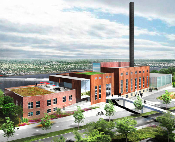 Studio Gang is Transforming a Dirty Coal Power Plant Into a Green Arts College