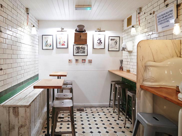 19th Century London Toilet Transformed Into A Haven For Coffee Lovers