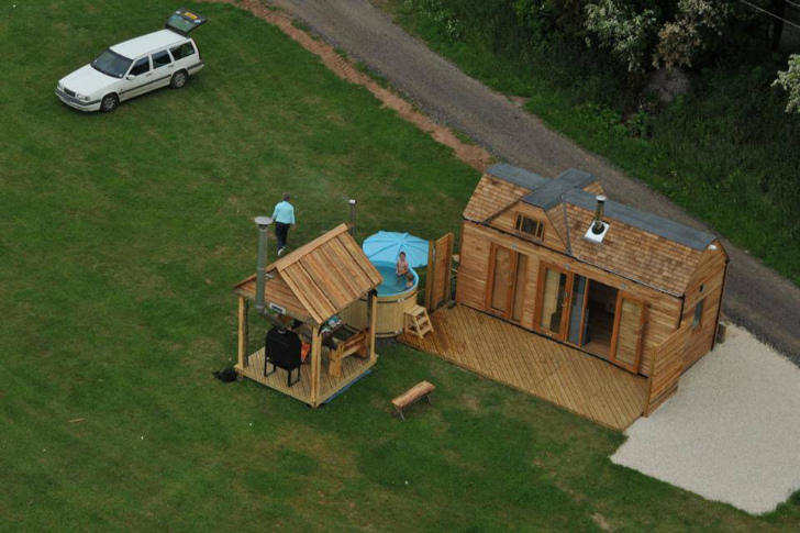 winning small wooden homes. Tinywood Homes Come with Their Own Hot Tubs in the UK  Inhabitat Green Design Innovation Architecture Building