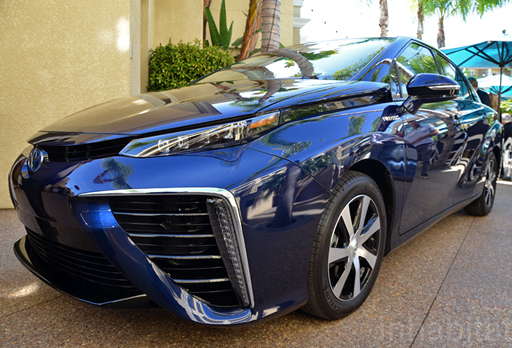 Toyota Unveils Mirai Fuel Cell Vehicle With 300 Mile Range Can It Kick Start A Hydrogen Revolution