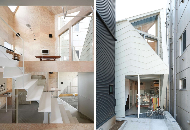 Tsubomi House by Flathouse is a Multi-Level Tiny Home Atop a Cookie ...