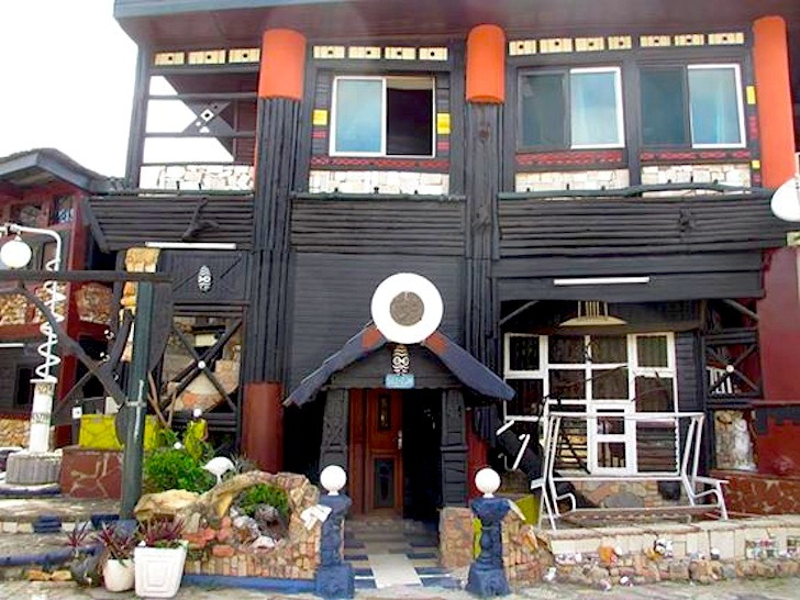 Wheel story house is west africa 39 s largest and oldest home for Salvaged building materials los angeles