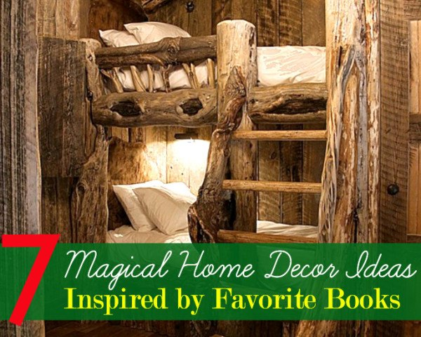 7 Book Inspired Home Decor Ideas That Are Literally Awesome