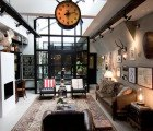 Amsterdam Architect Crafts His Eclectic Home Within a 1950s Garage