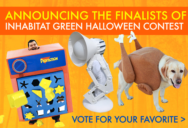 Vote For Your Favorite Green Halloween Costume To Decide Who Will Win A  Vanmoof B6 Bike (Worth $848)! | Inhabitat   Green Design, Innovation,  Architecture, ...