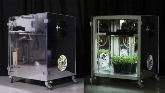 MEG micro indoor greenhouse system