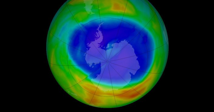 The Ozone Hole Above Antarctica is as Big as North America ...