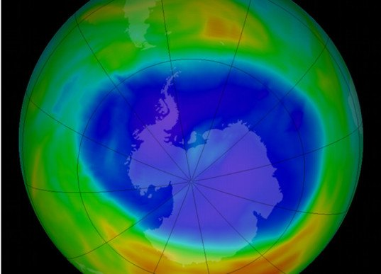 The Ozone Hole Above Antarctica is The Size of North ...