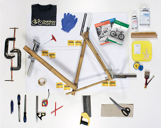 Build your own bike with Bamboo Bicycle Club\'s DIY kit | Inhabitat ...