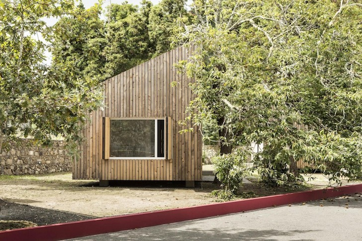 Charming Timber Clad Bungalows Blend Into Portugal S