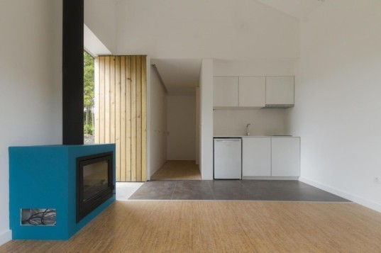 Portugal, M-Arquitectos, rural, bungalow, wooden cabin, cabin, timber-clad architecture, timber-clad, Azores, Seven Cities, Sete Cidades, local construction techniques, local materials