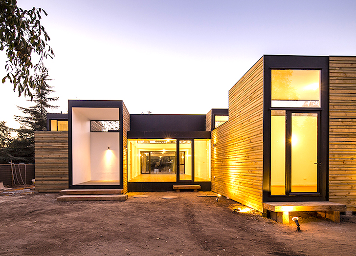 Energy efficient casa sip m3 stacks together using low for Sip built homes