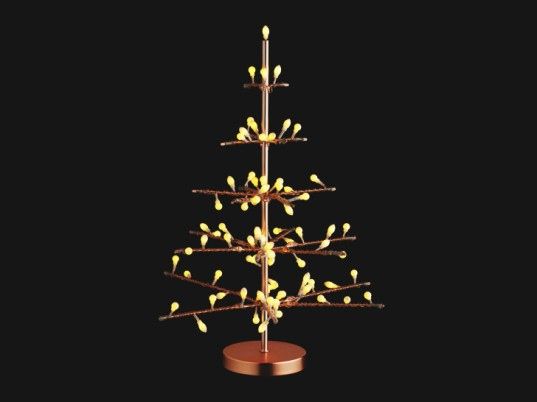 Copper LED Tree - Habitat