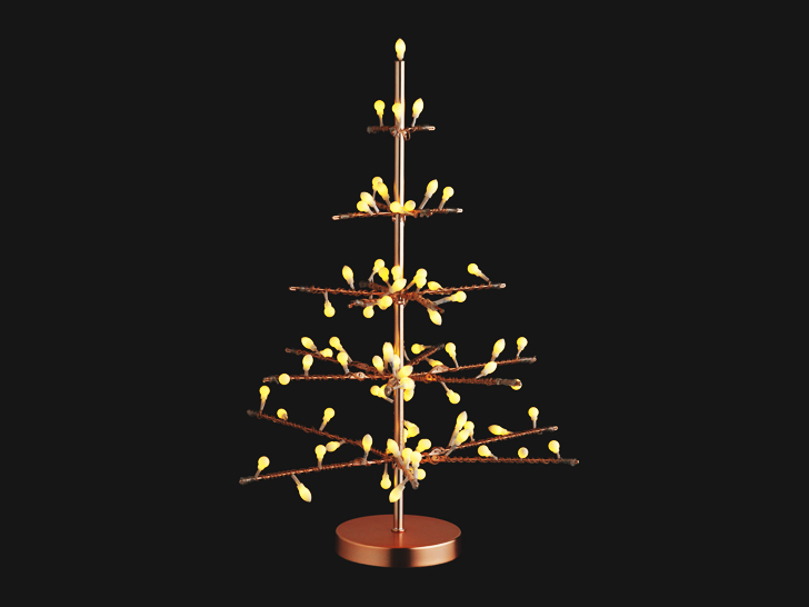 Christmas Metal Tree