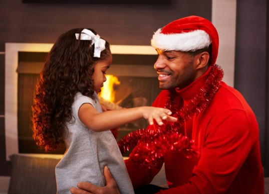 Father and Child Christmas