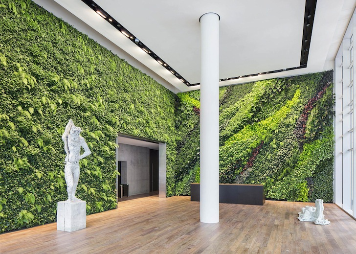 Habitat Horticulture Completes Largest Indoor Living Wall