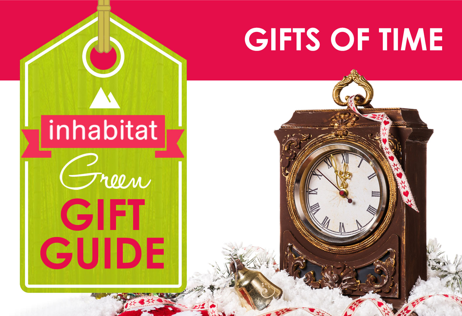 11 buy nothing gifts of time inhabitat green design green holiday green gift guide green holiday gift guide eco holiday green negle Choice Image