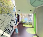 RS&H Inc. designs bright, colorful pediatric cancer care center