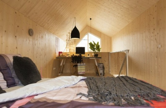 Heijmans ONE, Heijmans, Zeeburgereiland, Amsterdam, Rotterdam, Netherlands, solar power, prefab, prefab homes, prefab architecture, wooden home, portable home, moveable home, energy efficiency, rental housing, affordable housing,