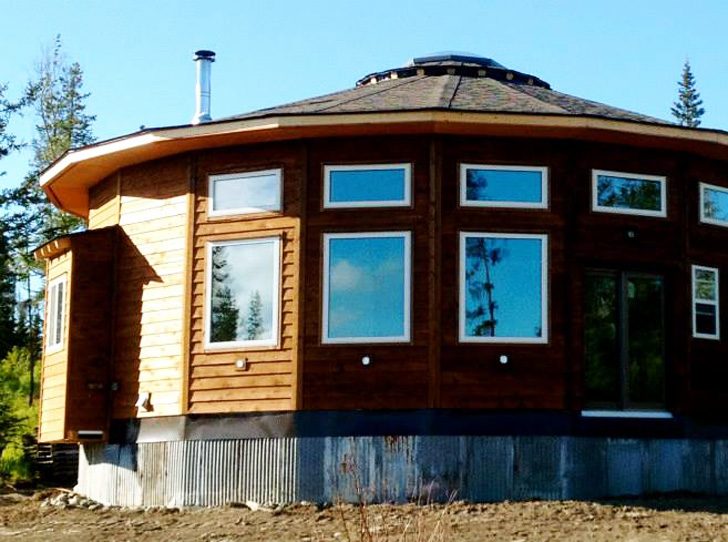 Mandala homes bring traditional yurt living into the 21st for Home builders alaska