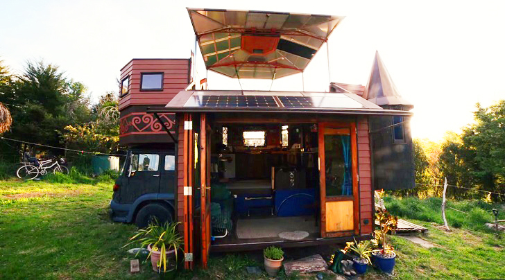 Eco Travel, Mobile Truck House, Mobile House, Off The Grid