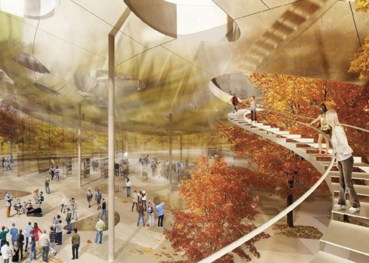 Ludwig Museum, New National gallery, museum project, Sou Fujimoto, Liget Budapest, KOZTI Architects, DIID Architectes, Hungary, Budapest, museum, museum design, Hungarian Music museum, oblong skylights, skylights