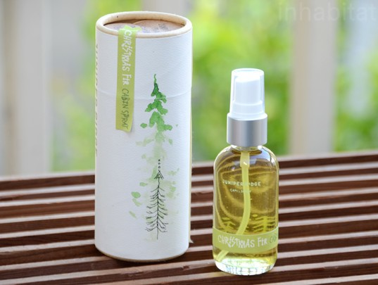 juniper ridge, christmas fir cabin spray, christmas fir, cabin spray wildcrafted scents, wilderness perfume, christmas scent, natural products, wildcrafted products, green design, sustainably sourced scents, wildcrafting