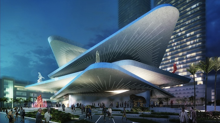 Connect In Latin >> FR-EE Unveils Dynamic Design for Latin American Art Museum in Miami | Inhabitat - Green Design ...
