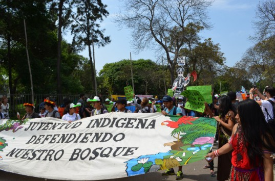Lima Climate march