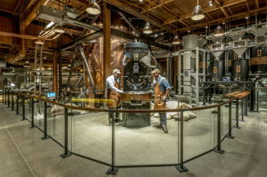 Reserve Roastery Tasting Room, Starbucks, seattle, coffee shop, eco coffee shop, sustainable coffee, starbucks reserve coffee, green renovation