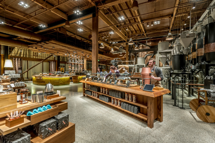 Starbucks Willy Wonka Coffee Factory Amp Largest Store Ever