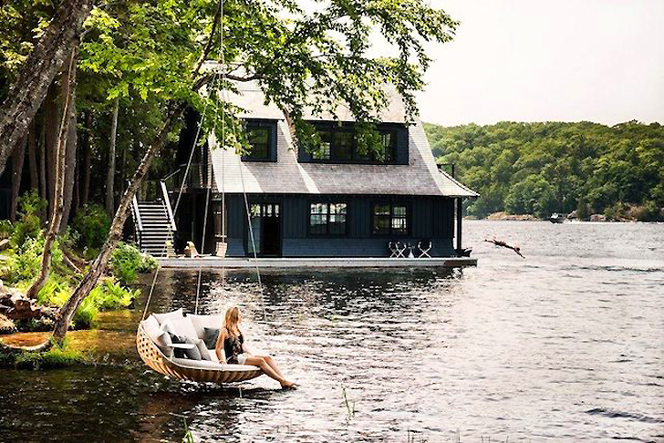Great Swingrest Hanging Lounger Is A Floating Basket Like Nest For An Entire  Family | Inhabitat   Green Design, Innovation, Architecture, Green Building Gallery