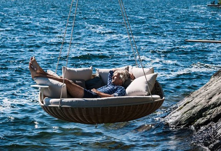 Swingrest Hanging Lounger Is A Floating Basket Like Nest For An Entire  Family | Inhabitat   Green Design, Innovation, Architecture, Green Building Design Inspirations