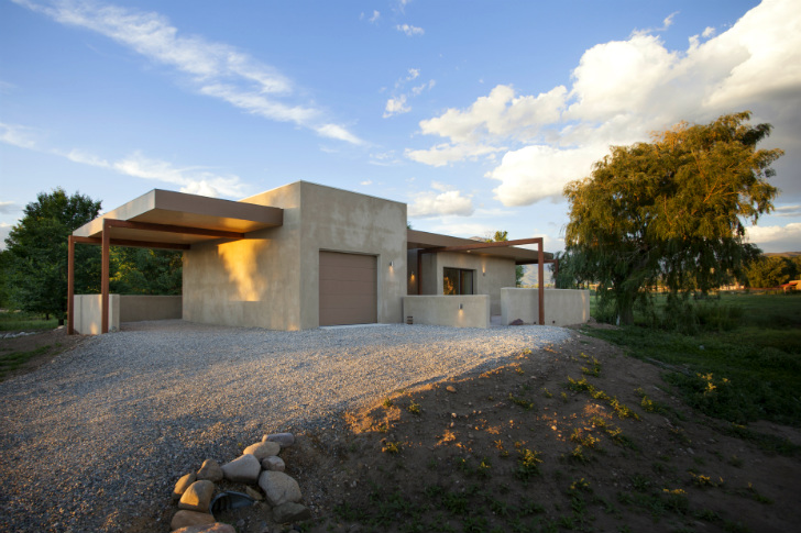 Taoshouse net zero passive house built in senior co for New mexico house plans