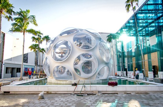 Buckminster Fuller, low-cost dome housing, low-cost housing, geodesic dome, dome, affordable housing, parametric design, 3d design, Design Miami