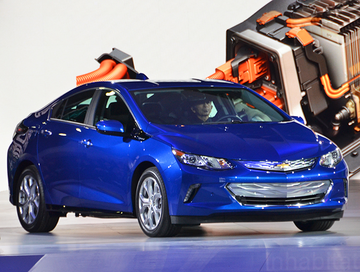 Chevy Volt 0 60 >> 2016 Chevrolet Volt Plug In Hybrid Electric Vehicle