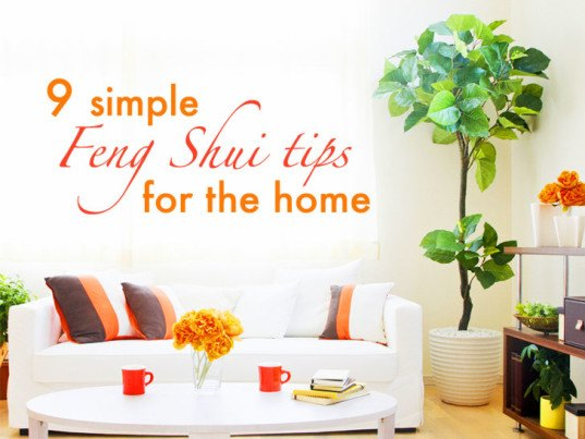 9 simple tips to feng shui your home tip 4 plants above - Tips for building a new home ...