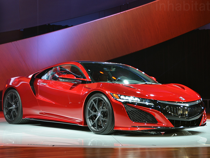 Honda Executives Hint That They Ll Be Bringing The Acura Nsx Back As A Hybrid Inhabitat Green Design Innovation Architecture Building