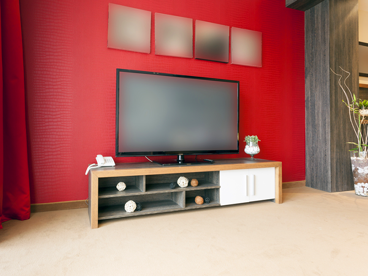 9 Simple Tips To Feng Shui Your Home Tip 7 Cover Up The TV In Bedroom Inhabitat