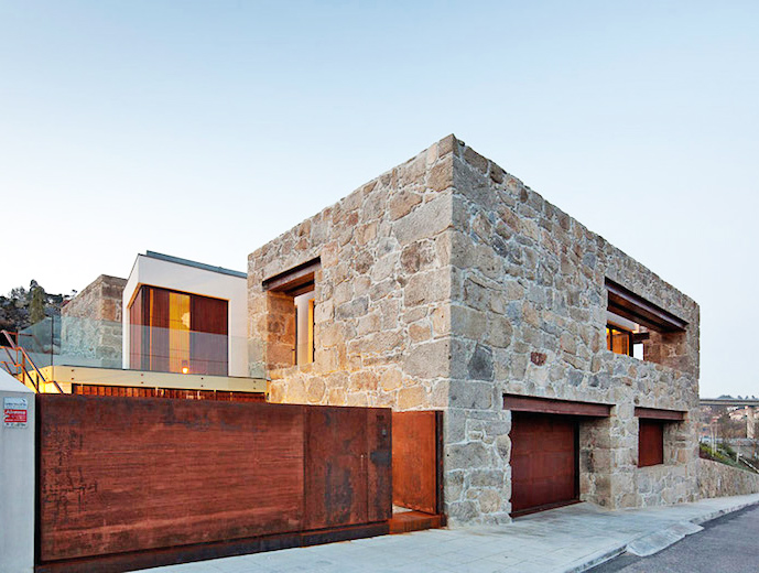 FCC Arquitectura gives a crumbling stone farmhouse a modern facelift