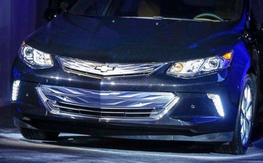 Chevrolet, Chevy, Chevrolet Volt, Chevy Volt, 2016 Chevy Volt, 2016 Volt, GM, General Motors, Consumer Electronics Show, CES, 2015 CES, green car, green transportation, electric car, plug-in hybrid