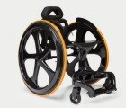 The 'Carbon Black' is the slickest wheelchair you've ever seen