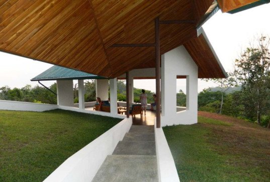 Costa Rica, OBRA Architects, Villa OSA, forest house, family home, walled gardens, symmetry, green architecture