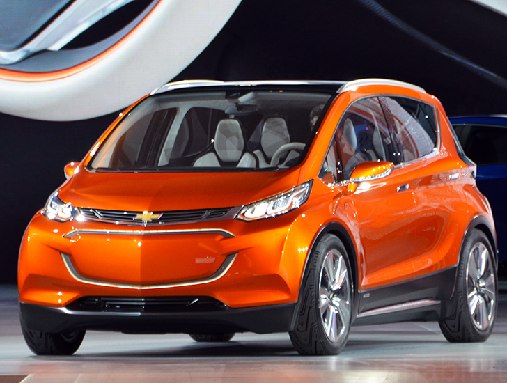 Chevrolet Unveils 30k Bolt Electric Car With A 200 Mile Range Photos