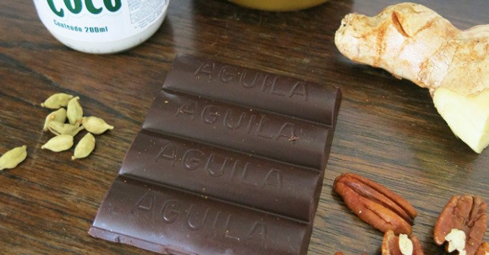 how to make chocolate nuts