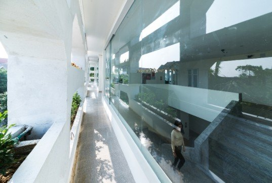 H&P Architects, SRDP-IWMC Office, Ha Tinh Province, Vietnam, sustainable architecture, sustainable design, climate change, resilient design, vietnamese architecture, Vertical Field, vertical walls, urban design