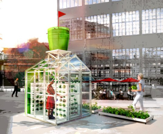 harvesting system, Antonio Scarponi, reader submitted content, urban farming, greenhouse, urban gardening, conceptual devices