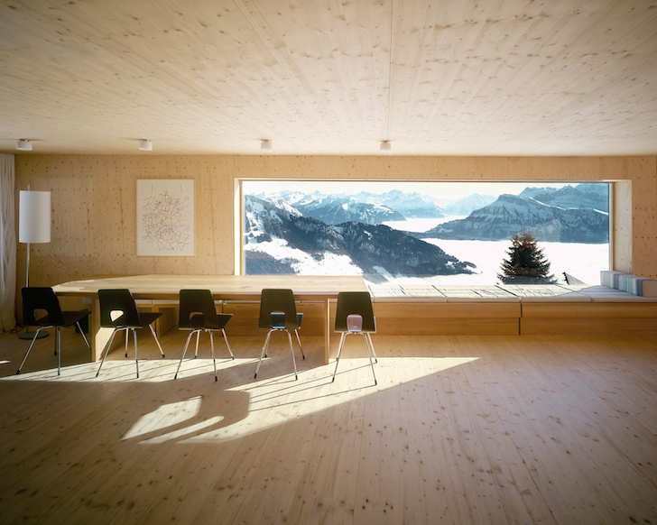 Timber Holiday Home Frames Breathtaking Views Of The Swiss