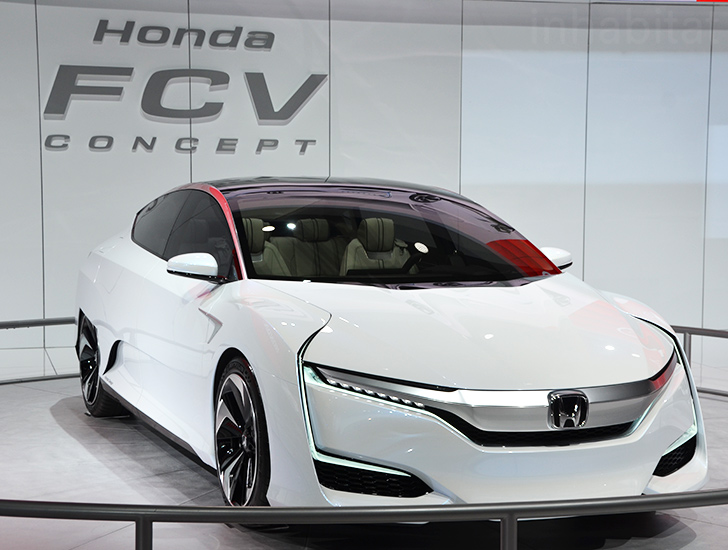 Honda FCV Fuel Cell Concept Makes Its US Debut At The 2015 Detroit