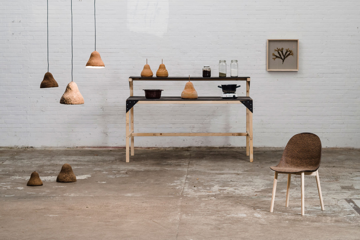 The Terroir Project transforms seaweed into sustainable chairs and lamps